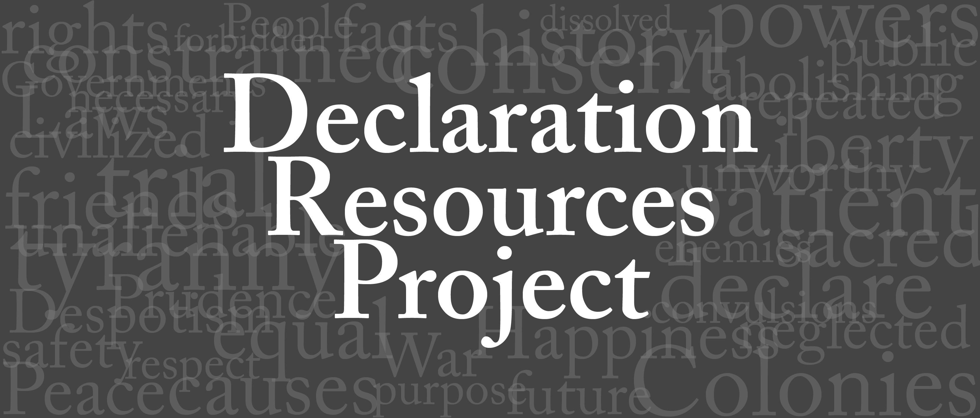 Declaration Resources Project