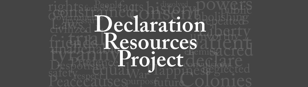 Declaration Resources Project